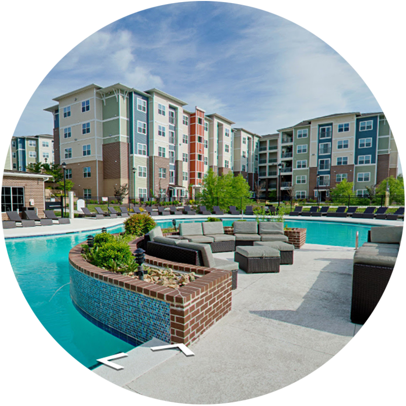 The Edge Apartments & Townhomes in 360º