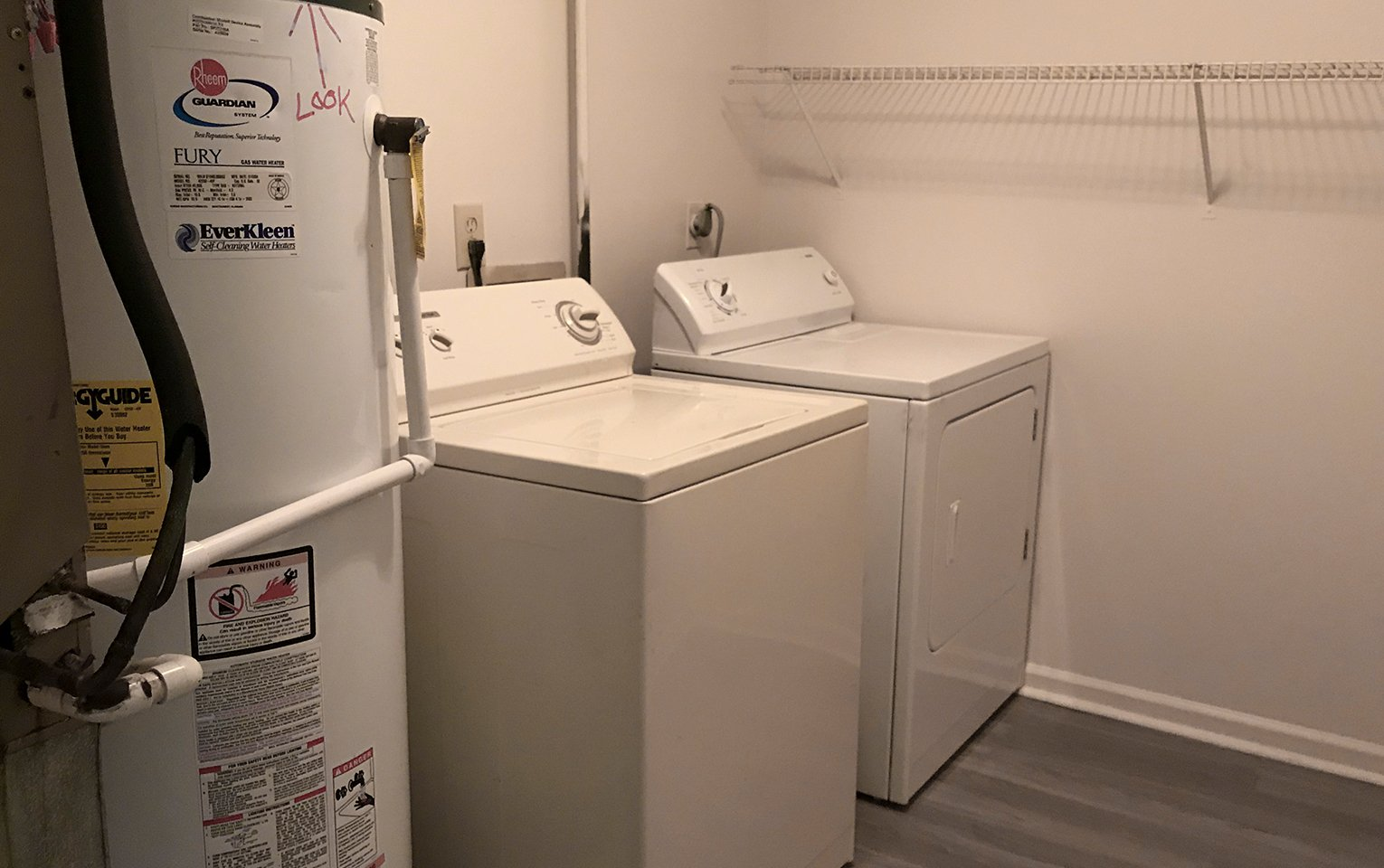 Chase Laundry Room
