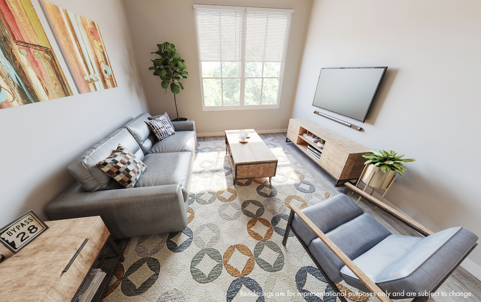 Cedar Pointe Living Room